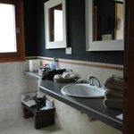 Cabaña, baño
