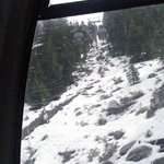 view of the snow from the Gondola, Lake Tahoe
