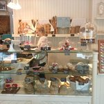 Our pastry counter of freshly prepared confectionary and pattisserie items
