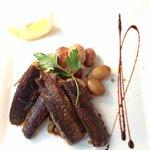 sardines (en  boite) grillées