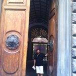 Welcome! - the front door to the suites