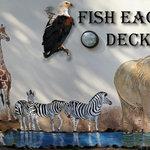 Wall mural of wildlife scene