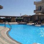 pool beats the beach!