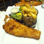 Fish & chips - lovely!