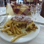 Simple lunch in Toulas Trattoria, Patras