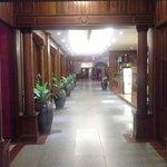 Hotel corridors