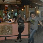 Yiannis and sister dancing