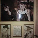 John Wayne was here, lol