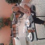 Breakfast in Lapa82 courtyard!