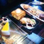 Rainbow Chesecake & Honey toast & Chocolate satin