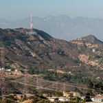 Hollywood Sign in the Santa Monica Mtns