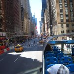New York from City Sight Tours Bus