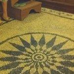 pavimentazione in mosaico originale del 1908
