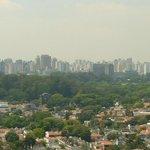 Visão do Parque do Ibirapuera