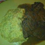 Polenta e carne
