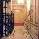hallway and elevator