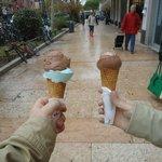 sorvete chocolate e menta