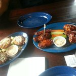 Fried Green Tomatoes, and Chicken Wings