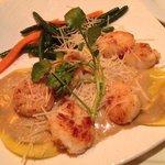shrimp and scallop ravioli