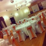 The room looked stunning for our wedding breakfast. - Elizabethan suite