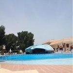 Pool area.