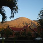 Mt. Guntur from our room