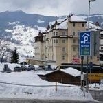 Hotel vu de la gare routière
