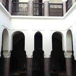 Inside atrium
