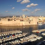 View from Sofitel Hotel of Marseille Port