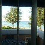 ocean front / balcony
