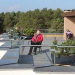 Солнечная терраса на крыше