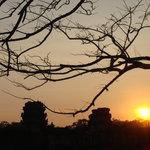 Sunset at Angkor Wat