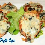 Spinach Phylo Cups