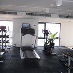 Gym on level 7