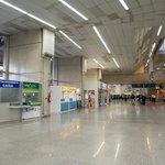 Stand no aeroporto do Galeão