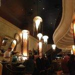 Good Atmosphere In Restaurant