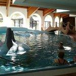Parte della piscina interna