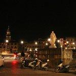 Piazza Goldoni, vue du rez de chaussée