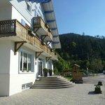 vue extérieur de l'hôtel