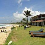 hôtel et plage