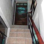Escalera de entrada