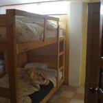 Habitación de 6 compartida, en suite