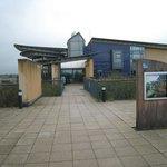 Entrance to the RSPB centre at Saltholme