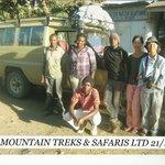 Meru Treks Group Photo.