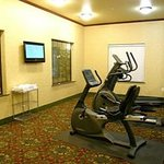 Fitness center by Indoor Pool area.