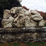 Sleeping Lion Monument to Unknown Confederate Dead, Historic Oakland Cemetery, Atlanta, GA