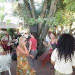 dancing under the oaks