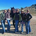 These are all my sisters and me - Seattle, Kansas City, Scottsdale, Dallas, Santa Fe
