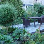 Small private garden