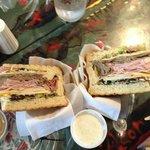 Halfed Sandwich